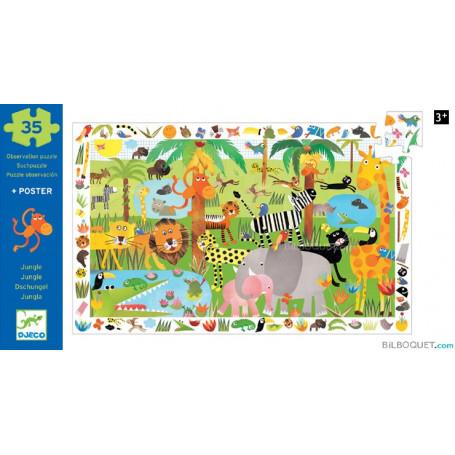Puzzle Observation Jungle