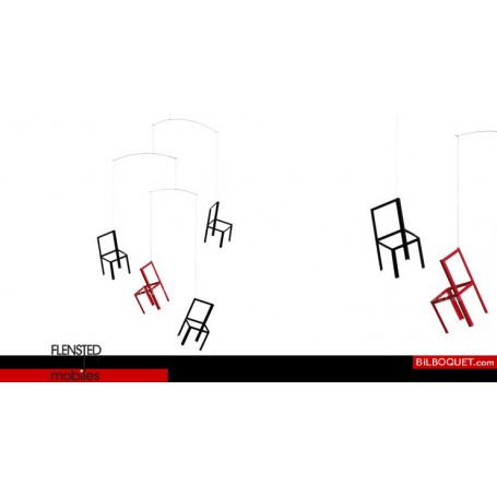Mobile Chaises volantes