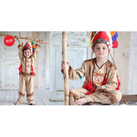 Koby Deguisement D Indien Costume Pour Enfant