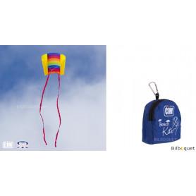 Cerf-volant monofil Arc-en-ciel beach kite