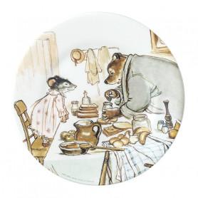 Assiette à dessert La cuisine - Ernest & Célestine