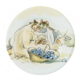 Dessert plate gardening - Ernest & Célestine