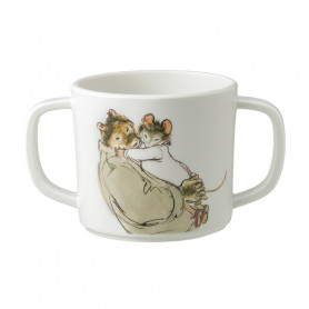 Double handled cup with anti-slip base - Ernest & Célestine