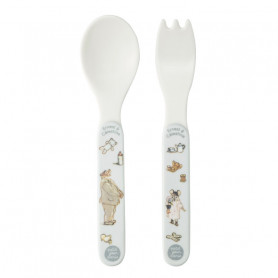 2-pieces cutlery set - Ernest & Célestine