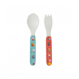 2 pieces cutlery set - Peppa Pig