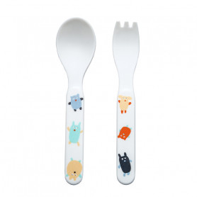 2 pieces cutlery set - Doudous