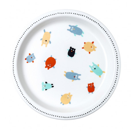 Baby plate - Doudous