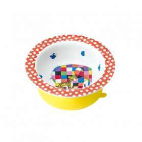 Bowl with suction pad - Elmer