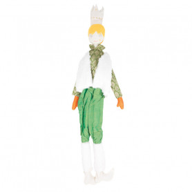 King Doll - Les Cocozaks - yellow hair, sheep wool vest