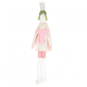Queen Doll - Les Cocozaks - green mat, beige crown