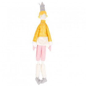 Queen Doll - Les Cocozaks - yellow bun, beige crown