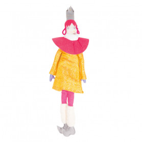 Queen Doll - Les Cocozaks - pink mat, gray crown