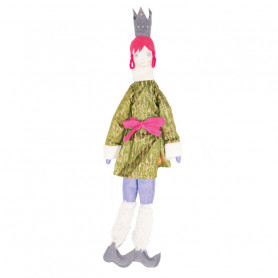 Queen Doll - Les Cocozaks - pink mat, black crown