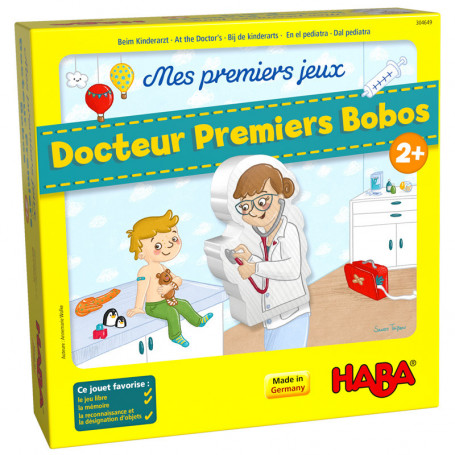 At the doctor's - My very first games