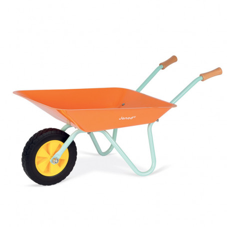 Metal Wheelbarrow - Happy Garden