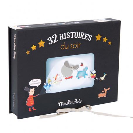Coffret cinéma 32 histoires du soir - les histoires du soir
