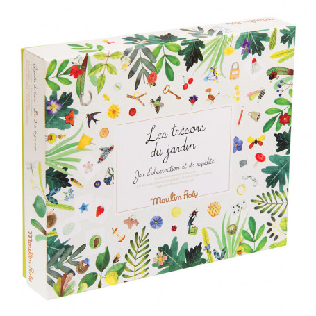 the treasures of the garden - Board game - Le jardin du Moulin