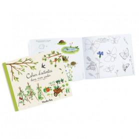 Cahier d'activités dans mon jardin - Le jardin du Moulin