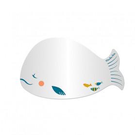 Mirror baleine - Le voyage d'Olga