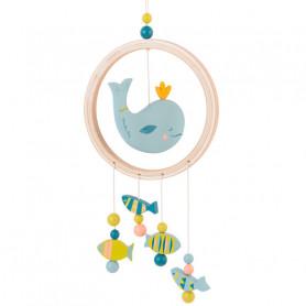 Attrape-rêves baleine - Le voyage d'Olga