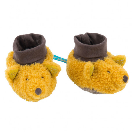Chaussette Baby Slippers - Le voyage d'Olga