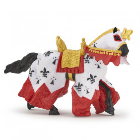 Figurine Cheval du roi Arthur