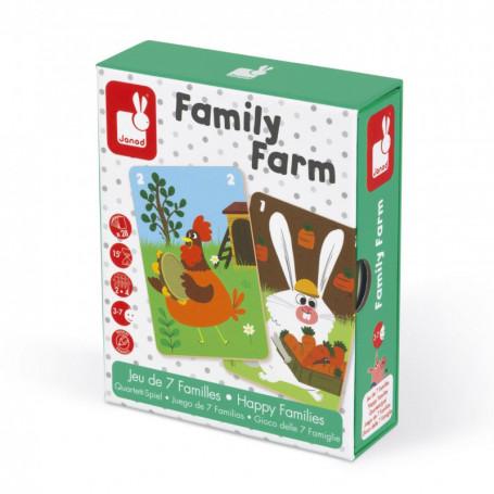 Family Farm - Jeu de 7 familles