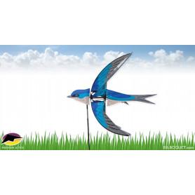 Eolienne Oiseau Hirondelle