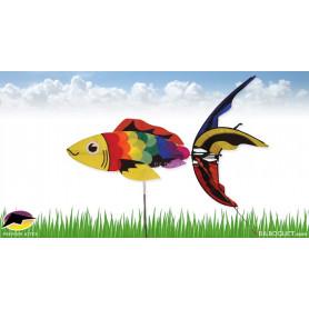 Eolienne Poisson Rainbow Koï