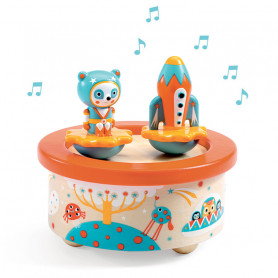 Magnetic music box Space Melody