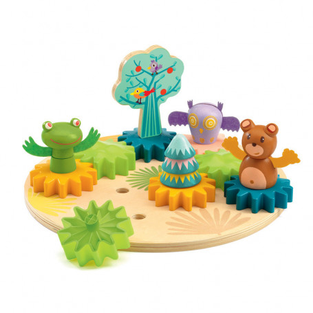 Woodytwist - Wooden play toy