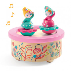 Magnetic music box Flower Melody