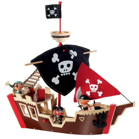 Ze Pirat Boat - Arty Toys Pirates