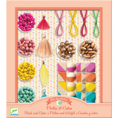 Beads and Cubes - Oh les perles