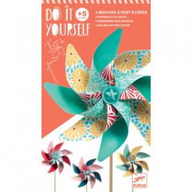 Do It Yourself Moulins Sweet - 4 moulins à vent à créer