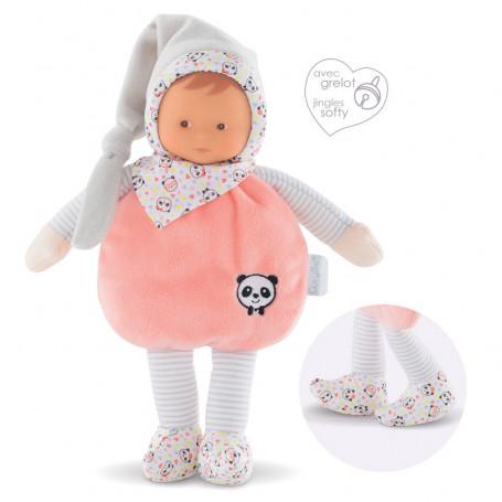 Doudou Minirêve Lutin Happy Panda 25cm