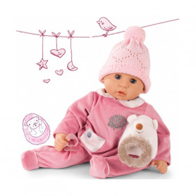Cookie Hedgehog with function Baby Doll with soft body 48cm