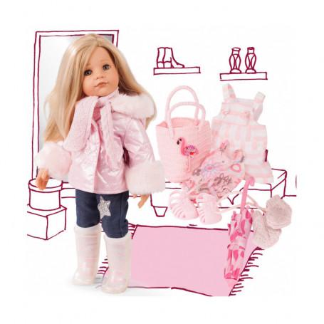 Hannah habillée pour toute l'année - Poupée Götz en série limitée - 50 cm