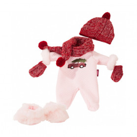 Babyset Cosy Christmas for dolls Götz 30-33 cm