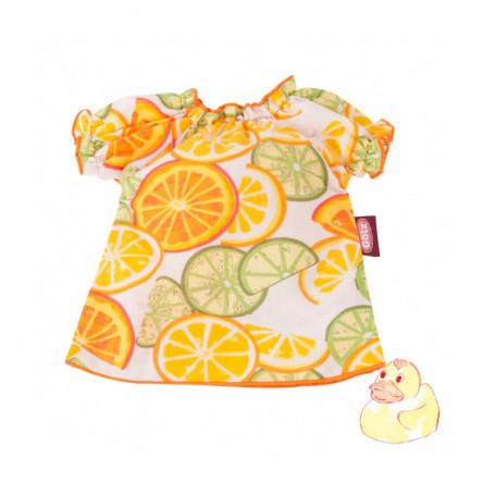 Robe citrons pour poupées Götz 30-33 cm