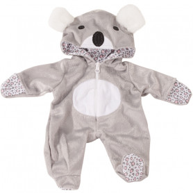 Onesie Koala for dolls Götz 30-33 cm