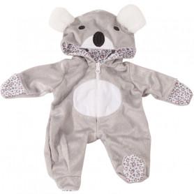 Combinaison Koala pour poupées Götz 30-33 cm
