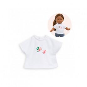 T-shirt TropiCorolle pour poupée Ma Corolle 36cm