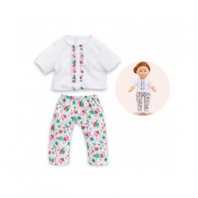 Blouse & legging TropiCorolle pour poupée MaCorolle