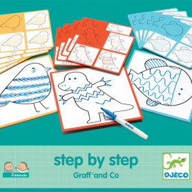 Graff'and Co - Eduludo Educational Game Step by step