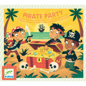 Pirate Party - 5 games to keep children entertained for a whole afternoon