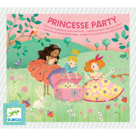 Princesse Party - 5 games to keep children entertained for a whole afternoon