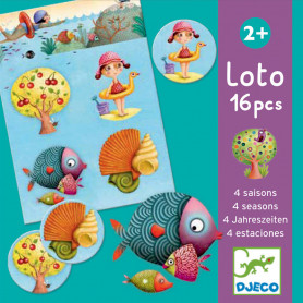 Loto 4 seasons - an association game of images and language