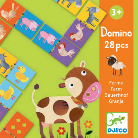 Domino farme - A picture recognition and number matching game