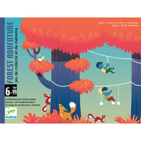 Forest Adventure - A collecting and memory game